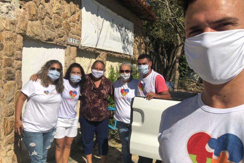 Ação social no Recreio- Beira Rio