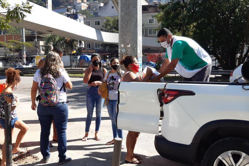 Ação Social na Rocinha